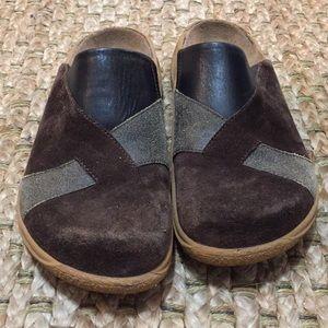 Birkenstock Tatami Leather Sandal Clogs  sz 38